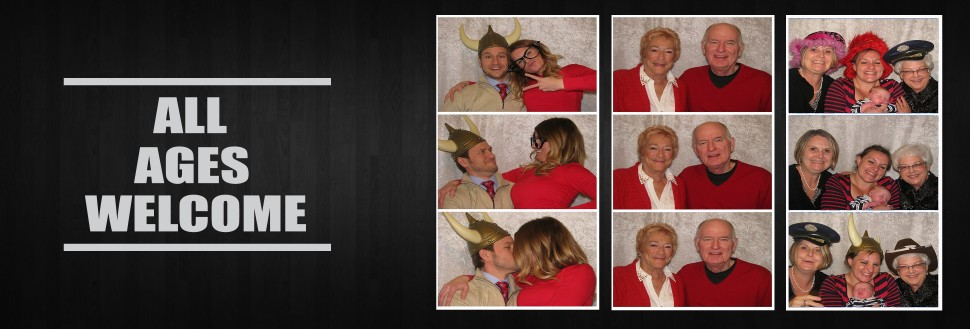 All ages have fun in a Say Cheez Photo Booth - Lawrence!